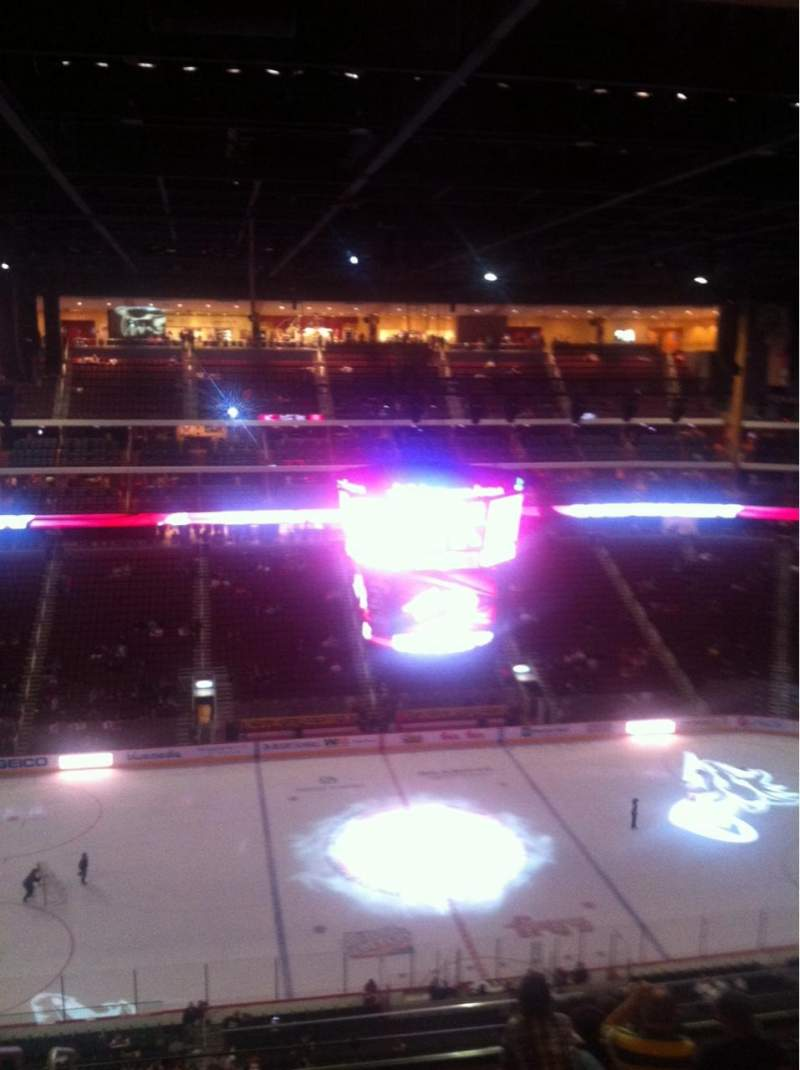 Seating view for Gila River Arena Section 216 Row I Seat 21