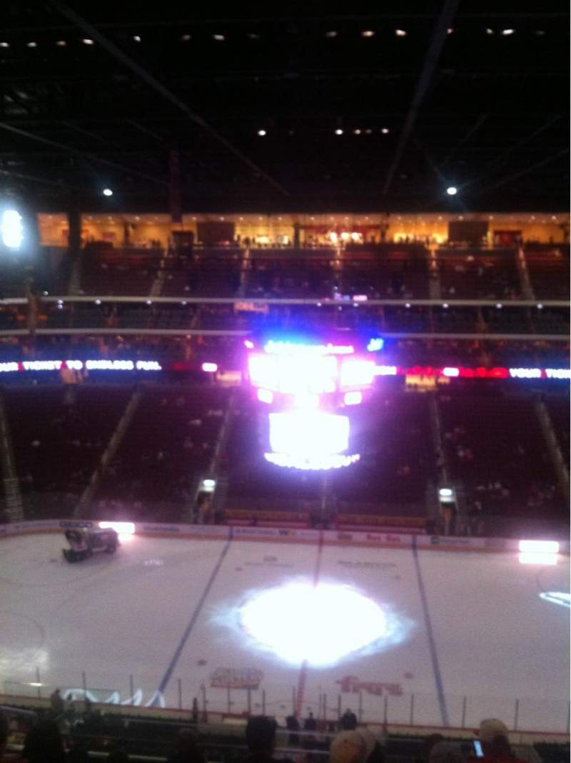 Seating view for Gila River Arena Section 215 Row H Seat 17