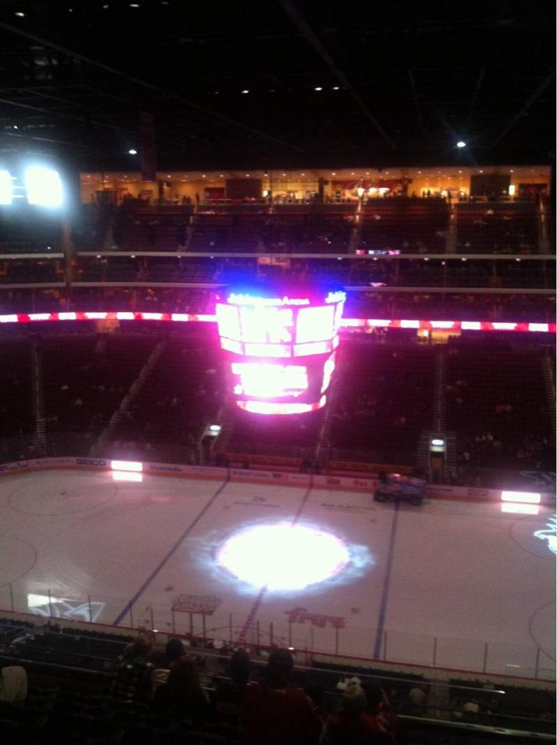 Seating view for Gila River Arena Section 215 Row H Seat 2