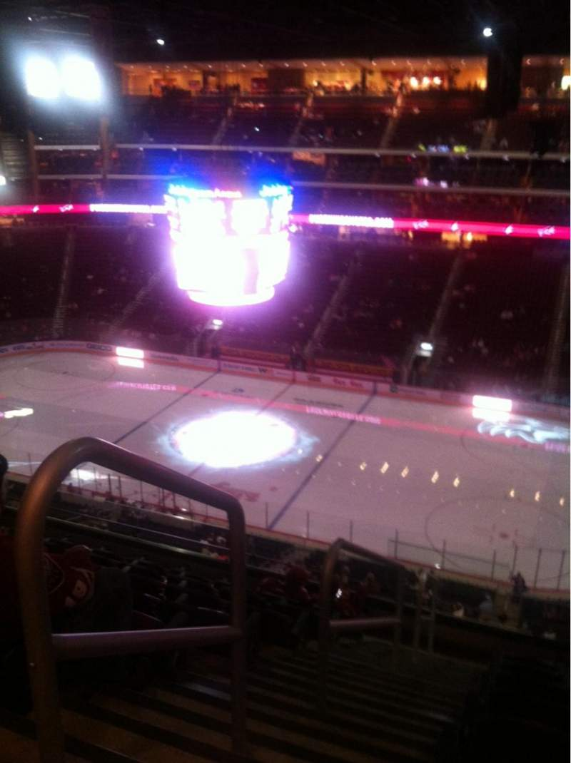 Seating view for Gila River Arena Section 213 Row H Seat 20