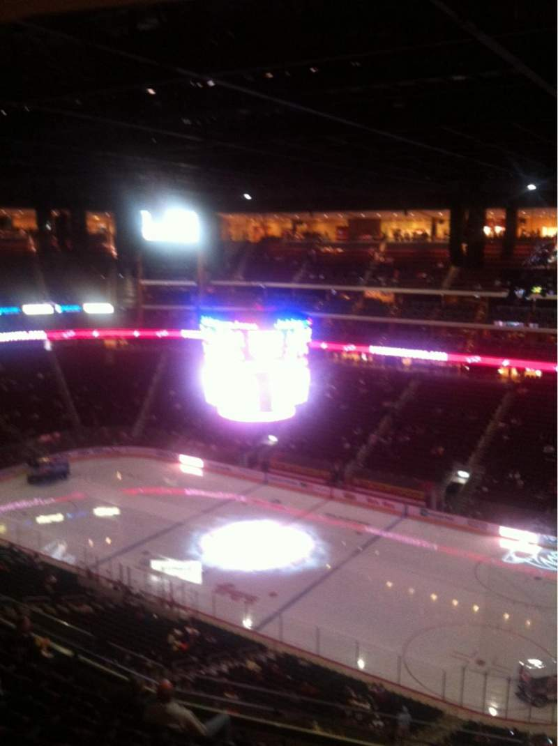 Seating view for Gila River Arena Section 213 Row I Seat 1