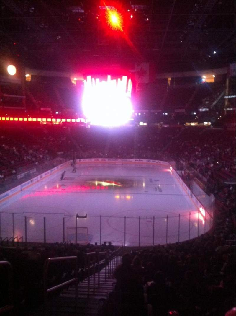 Seating view for Gila River Arena Section 105 Row Z Seat 26