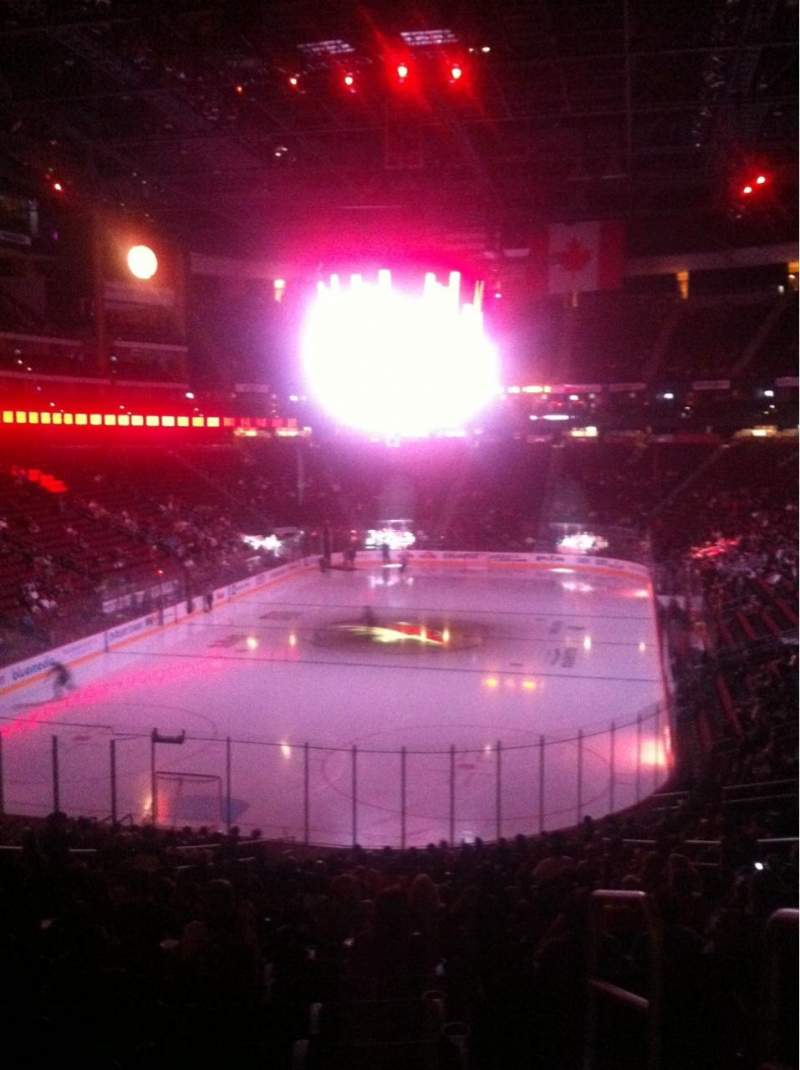 Seating view for Gila River Arena Section 105 Row Z Seat 14