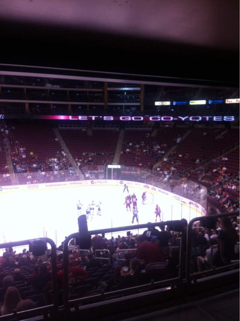 Seating view for Gila River Arena Section 122 Seat 1
