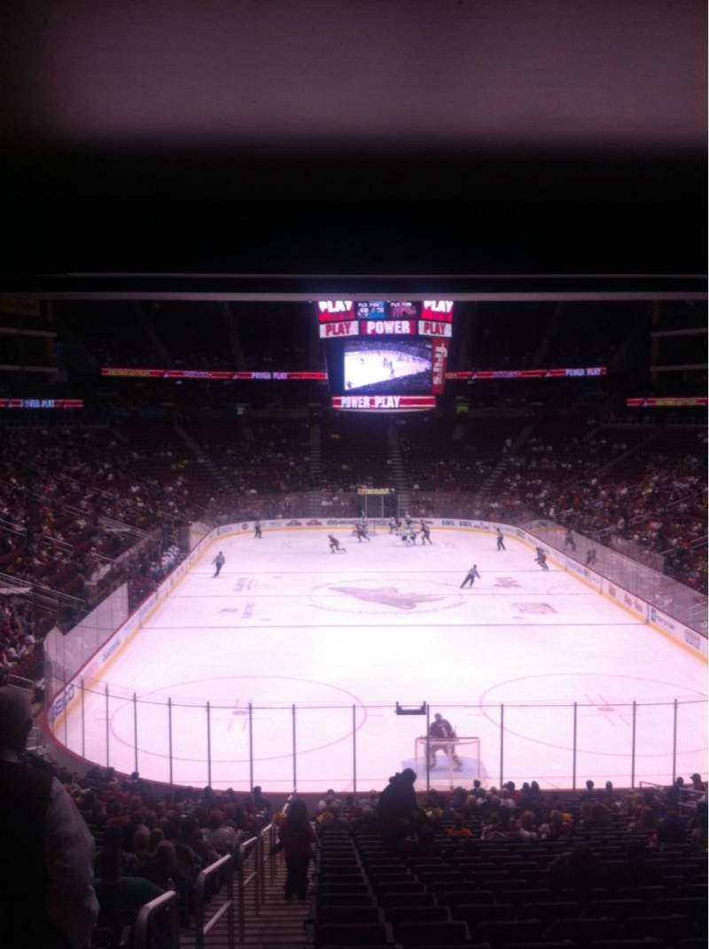 Seating view for Gila River Arena Section 117 Row Y Seat 14