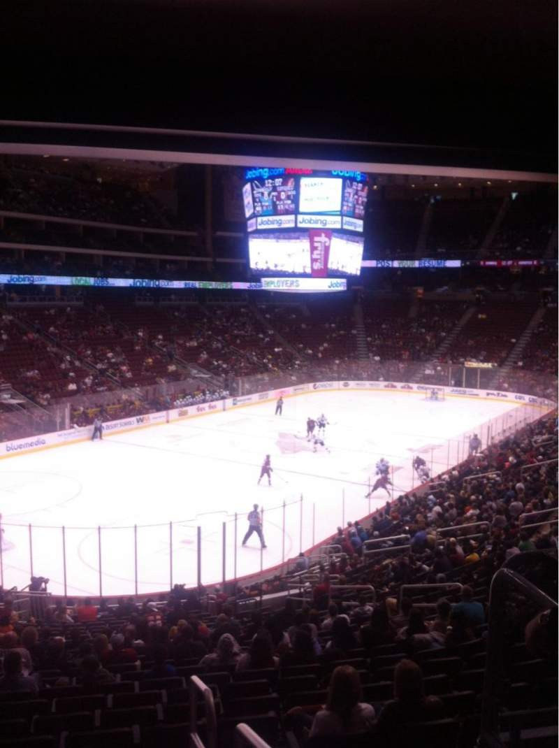 Seating view for Gila River Arena Section 115 Row Y Seat 17
