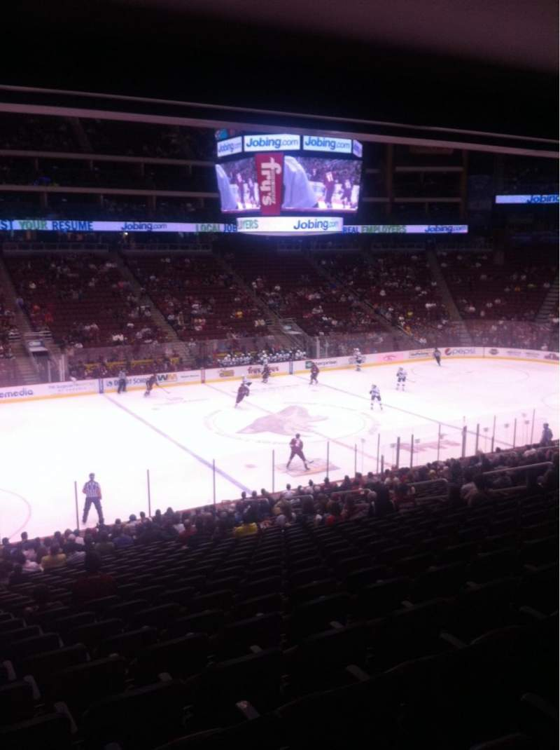 Seating view for Gila River Arena Section 113 Row Z Seat 19