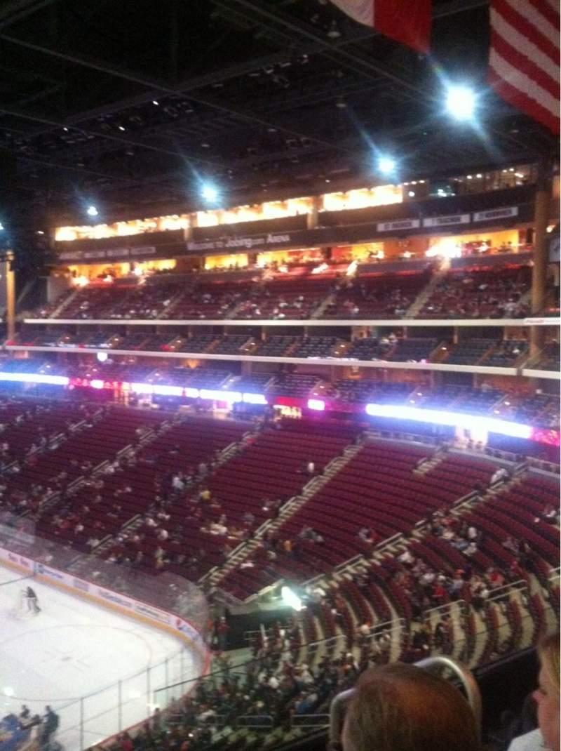 Seating view for Gila River Arena Section 225 Row D Seat 3