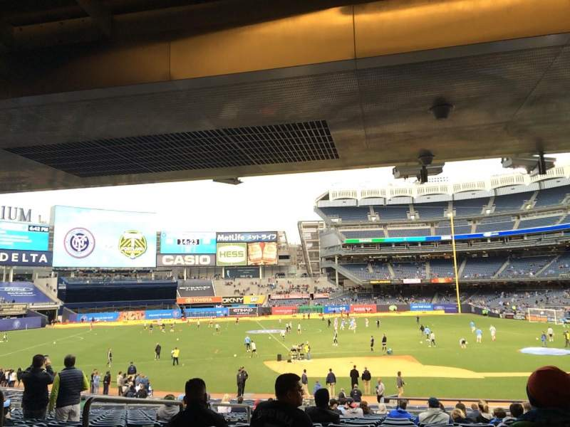 Seating view for Yankee Stadium Section 125 Row 30 Seat 11