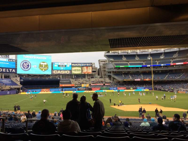 Seating view for Yankee Stadium Section 126 Row 30 Seat 13