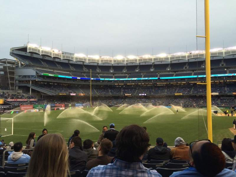 Seating view for Yankee Stadium Section 132 Row 124 Seat 17