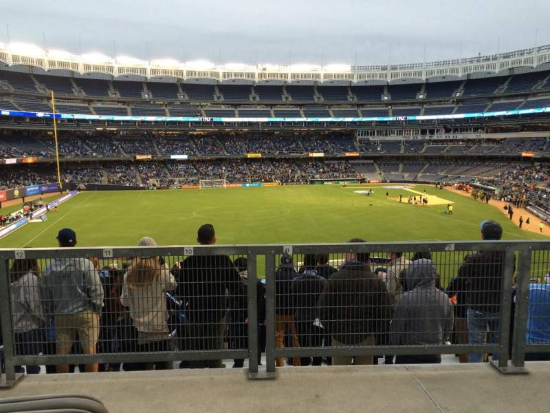 Seating view for Yankee Stadium Section 236 Row Disabled Sea Seat Bleachers