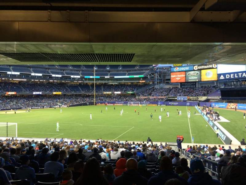 Seating view for Yankee Stadium Section 110 Row 30 Seat 2