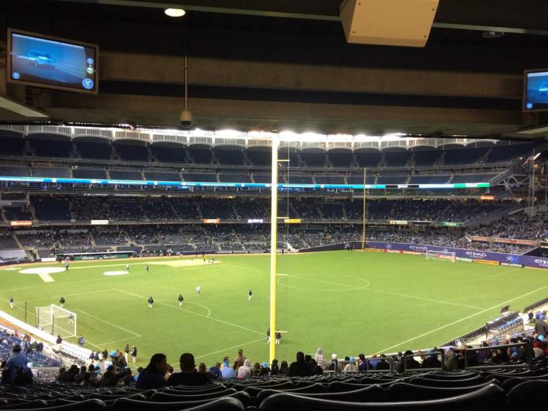 Seating view for Yankee Stadium Section 208 Row 23 Seat 9