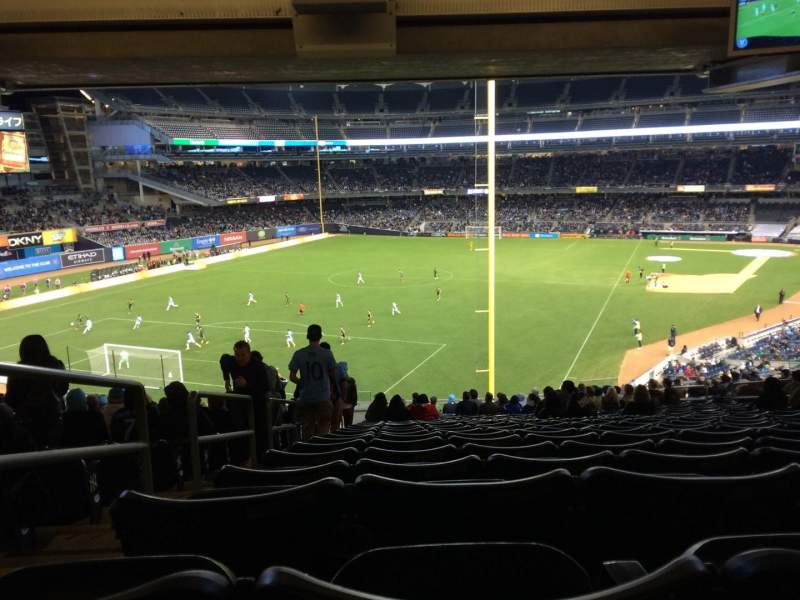 Seating view for Yankee Stadium Section 232b Row 23 Seat 17