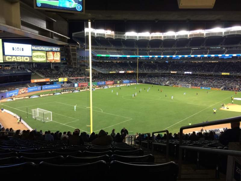 Seating view for Yankee Stadium Section 232a Row 23 Seat 1