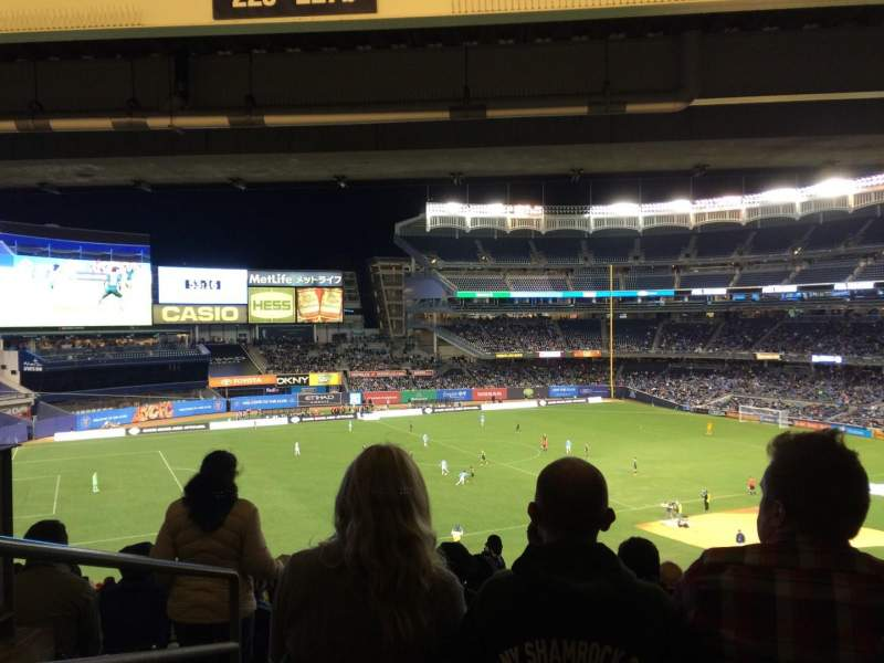 Seating view for Yankee Stadium Section 227b Row 23 Seat 22