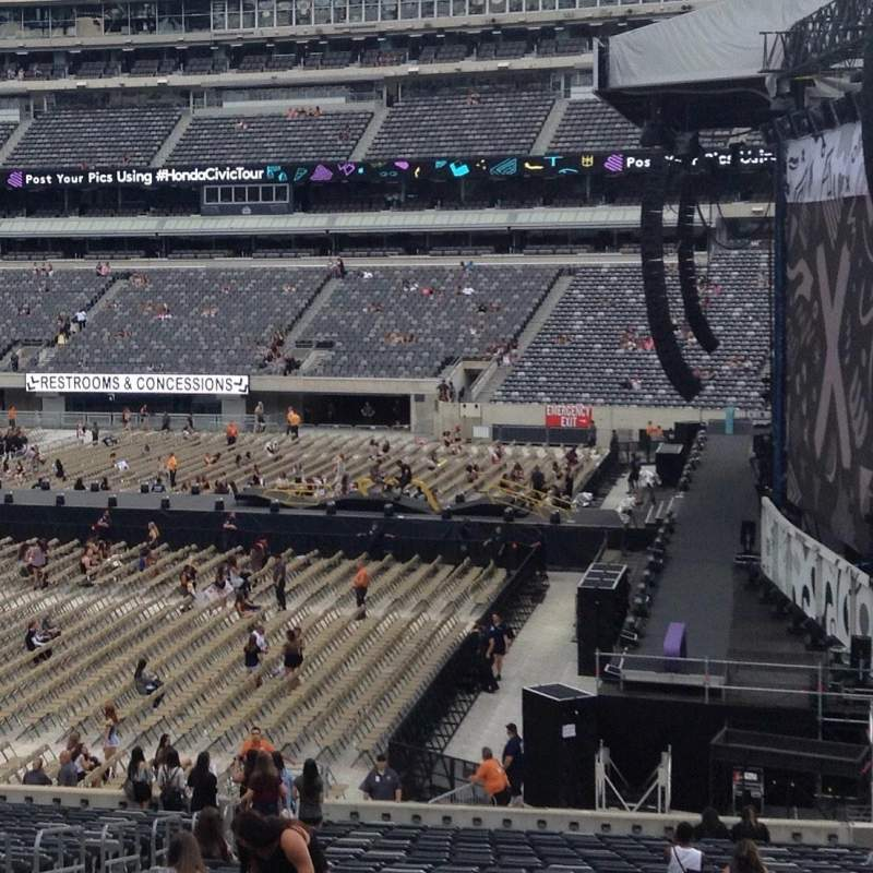 MetLife Stadium, section 110, home of New York Jets, New ...