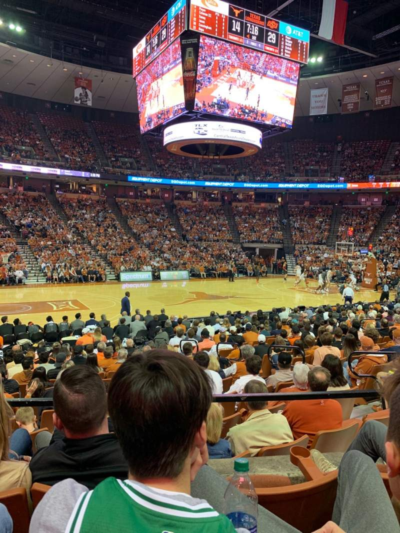 Seating view for Frank Erwin Center Section 48 Row 18 Seat 7