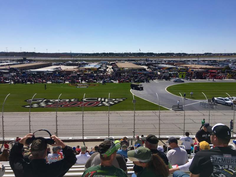 Seating view for Atlanta Motor Speedway Section 137 Row 22 Seat 12