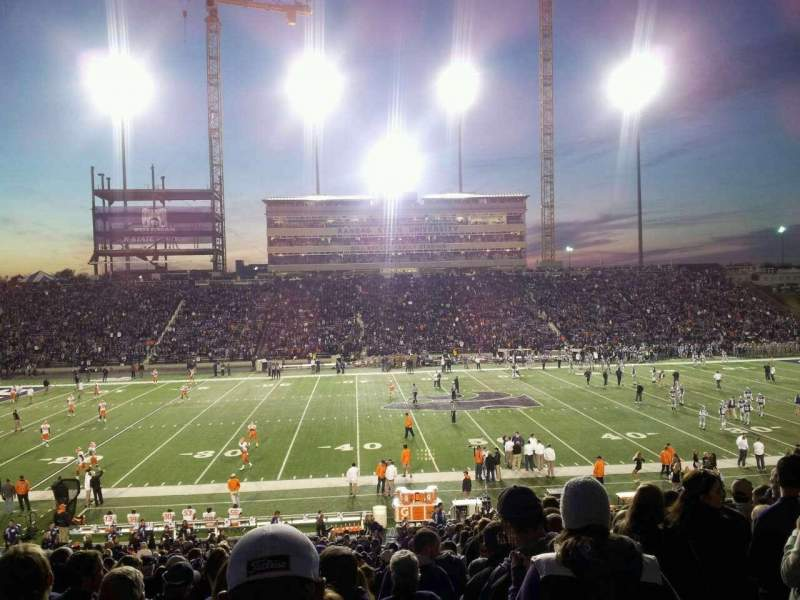 Seating view for Bill Snyder Family Stadium Section 23 Row 34 Seat 2