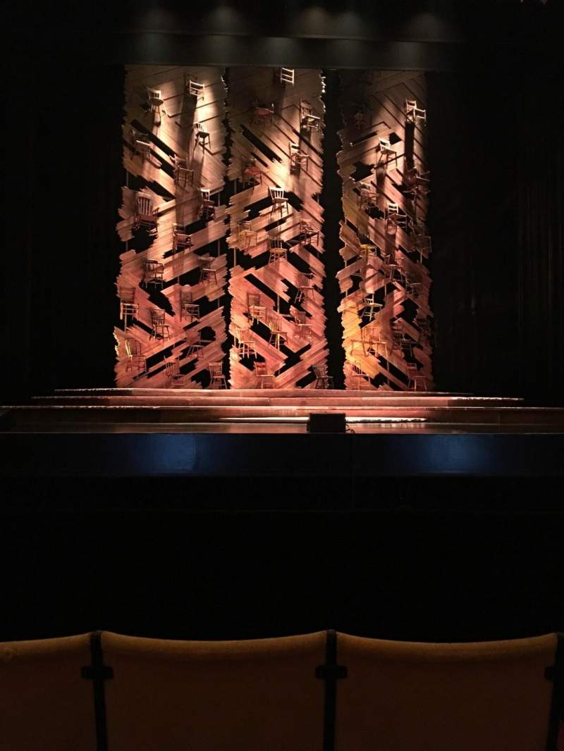 Seating view for Auditorium Theatre Section Center Row D Seat 305