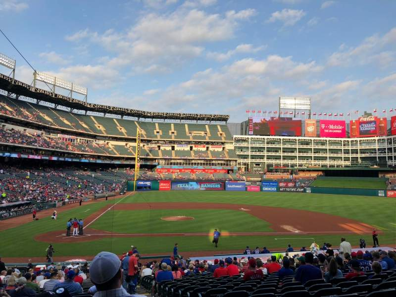 Globe Life Park in Arlington, section: 31, row: 28, seat: 14