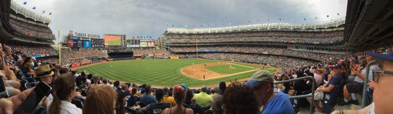 Seating view for Yankee Stadium Section 017B Row 10 Seat 3