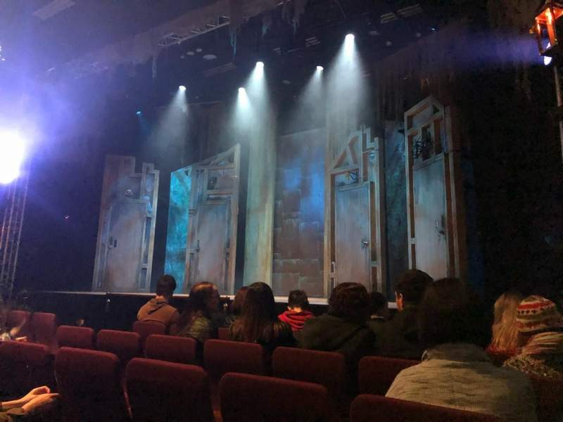 Seating view for Alex Theatre Section Stalls Row E Seat 1