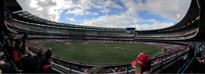 Seating view for Melbourne Cricket Ground Section N23 Row B Seat 10
