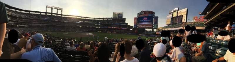 Citi Field, section: 110, row: 17, seat: 10
