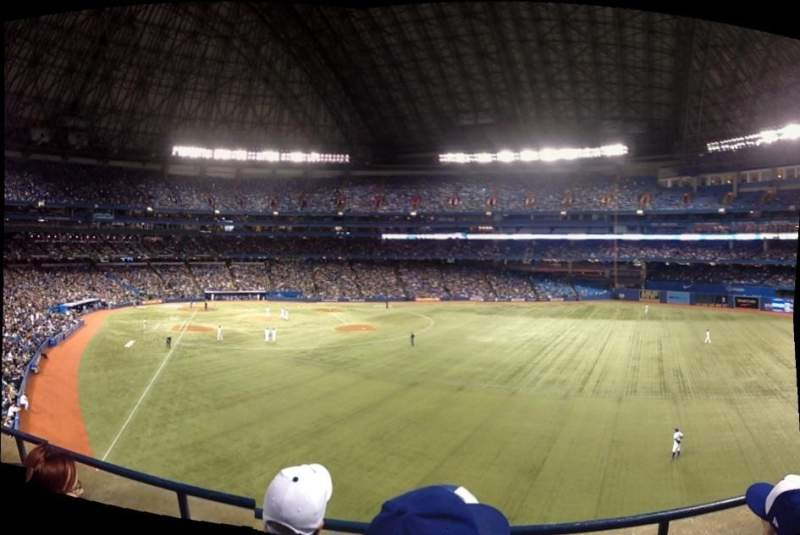 Seating view for Rogers Centre Section 209 Row 3 Seat 8