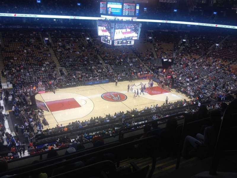 Seating view for Air Canada Centre Section 311 Row 6 Seat 2