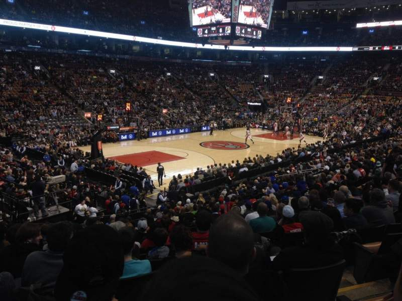 Seating view for Air Canada Centre Section 111 Row 21 Seat 2
