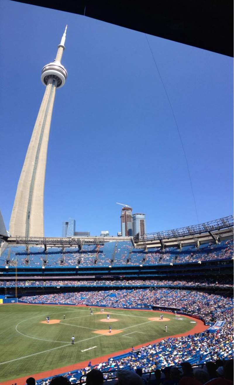 Seating view for Rogers Centre Section 234L Row 7 Seat 101