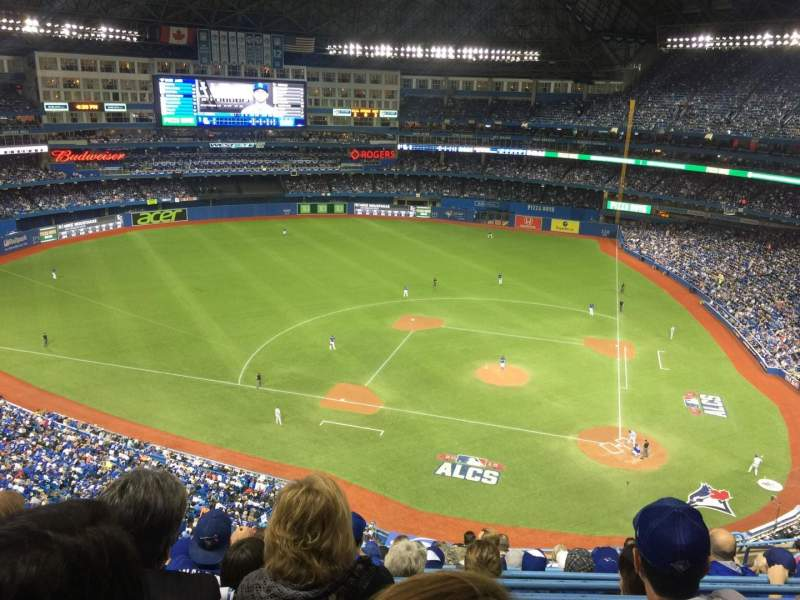 Seating view for Rogers Centre Section 528R Row 12 Seat 10