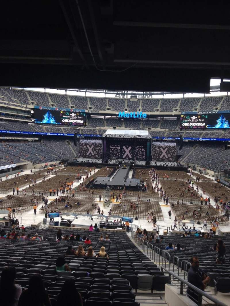 Seating view for MetLife Stadium Section 126 Row 45 Seat 4