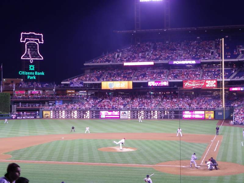 Citizens Bank Park, section: 127, row: 31, seat: 9