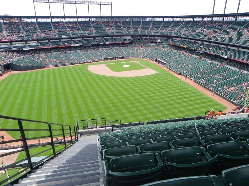Seating view for Oriole Park at Camden Yards Section 388 Row 25 Seat 23