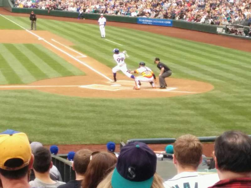 Seating view for Safeco Field Section 136 Row 22 Seat 5