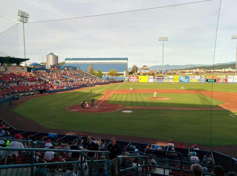 Seating view for Avista Stadium Section L Row 8 Seat 2