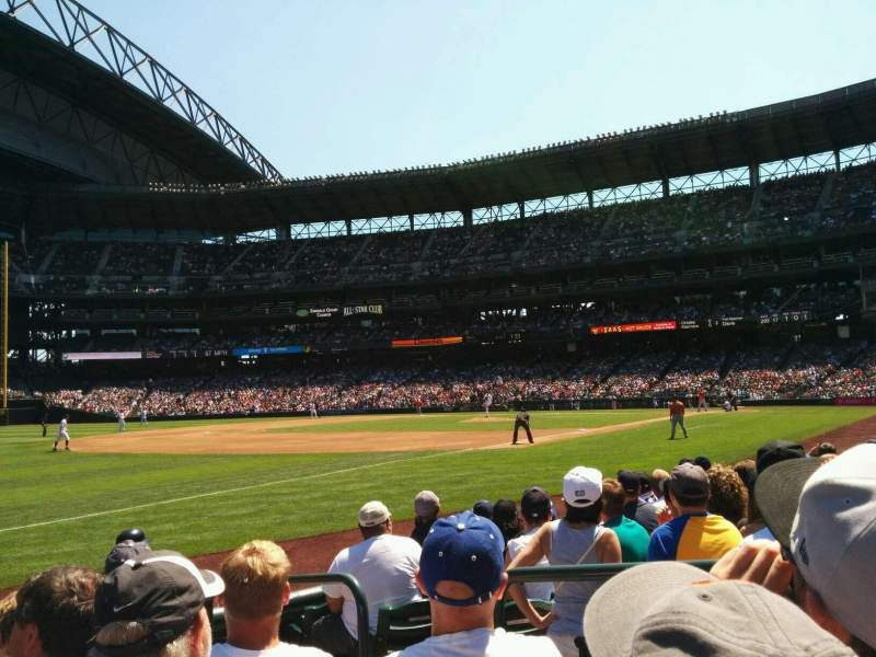 Seating view for Safeco Field Section 144 Row 7 Seat 3
