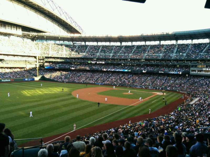 Seating view for Safeco Field Section 247 Row 8 Seat 16