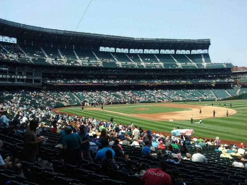 Seating view for Safeco Field Section 116 Row 32 Seat 5