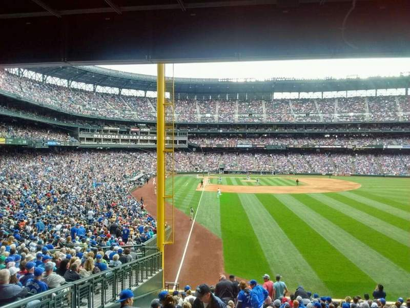 Seating view for Safeco Field Section 109 Row 41 Seat 14