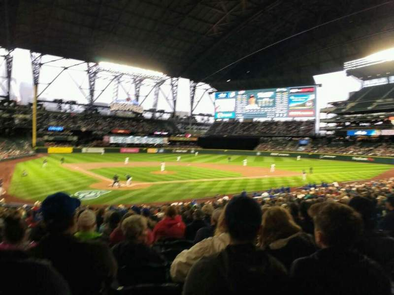 Seating view for Safeco Field Section 127 Row 30 Seat 9