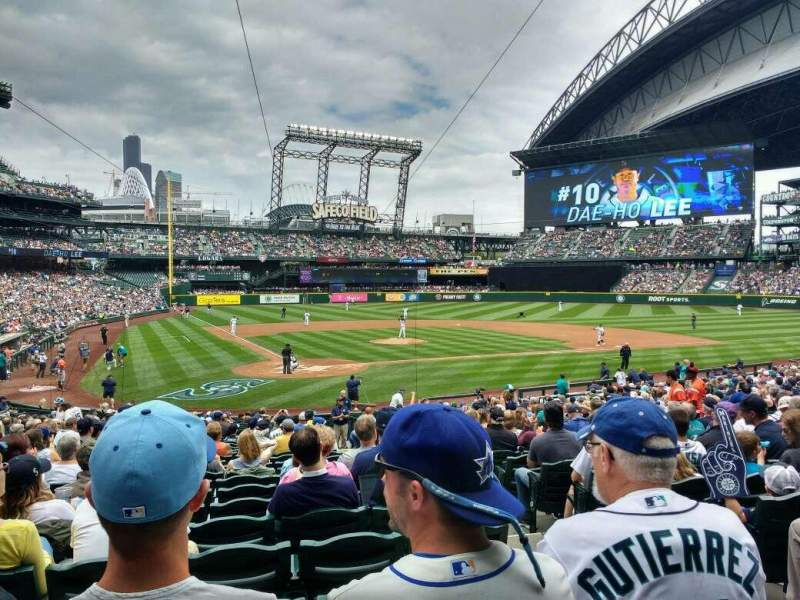 Seating view for Safeco Field Section 127 Row 29 Seat 3