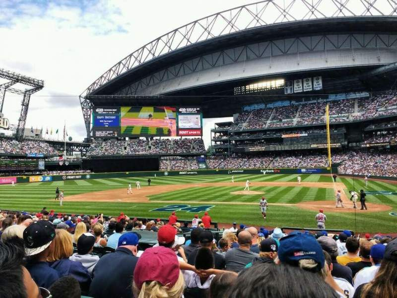 Seating view for Safeco Field Section 135 Row 21 Seat 5
