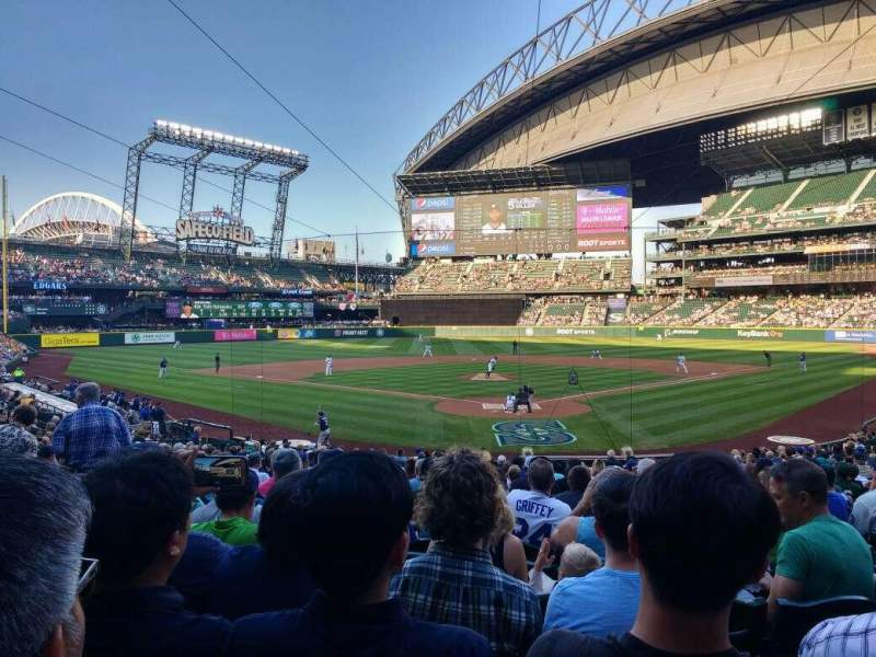 Seating view for Safeco Field Section 131 Row 26 Seat 7