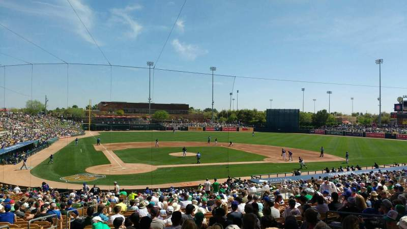 Seating view for Camelback Ranch Section 112 Row wch
